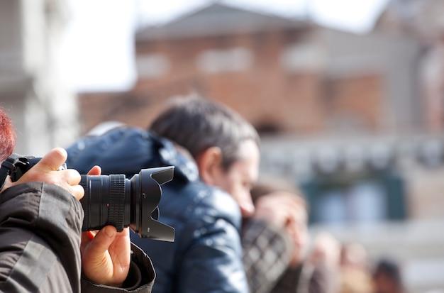 Fotógrafo Foto Premium