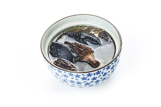 Frango estufado, cozinha chinesa Foto Premium