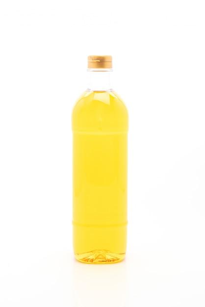 Frasco de óleo branco Foto Premium