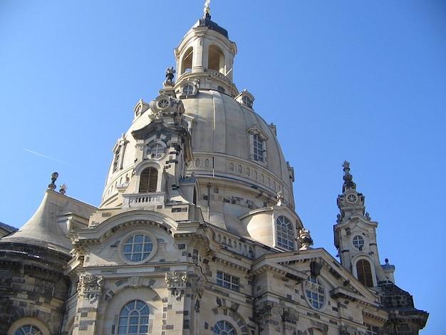Frauenkirche dresden edifício de arquitectura campanário Foto gratuita