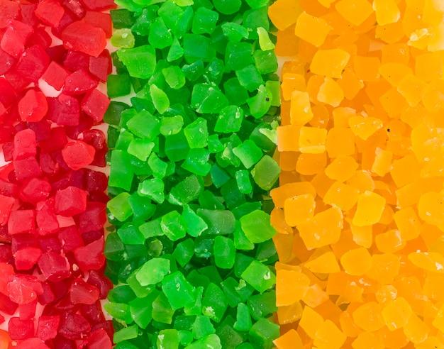 Fruta cristalizada Foto Premium