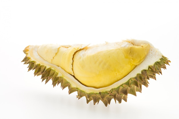 Fruta durian isolada Foto gratuita