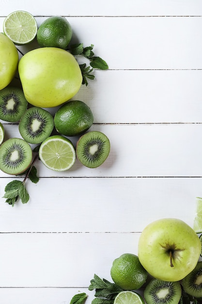 Frutas verdes Foto gratuita