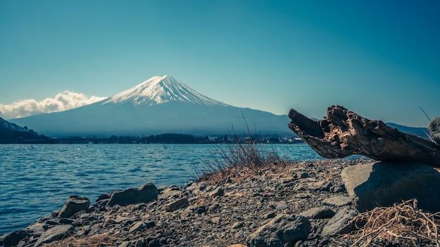 Fuji mountain view Foto Premium