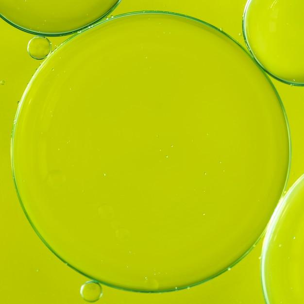 Fundo abstrato borbulhante de limão brilhante Foto gratuita