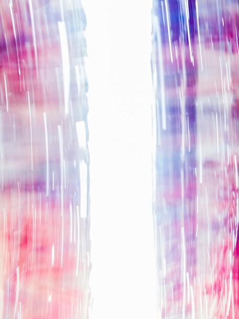 Fundo abstrato borrado com azul e vermelho Foto Premium