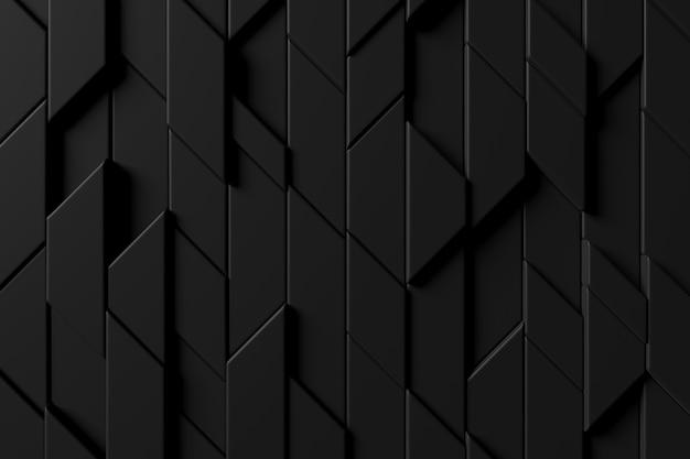 Fundo abstrato da parede moderna da telha. renderização em 3d. Foto Premium