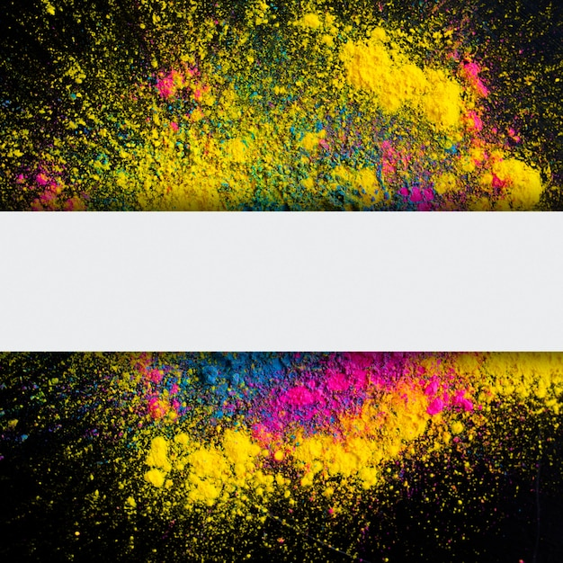 Fundo abstrato de explosão de cor holi Foto gratuita