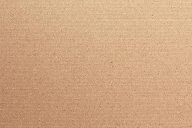 Fundo abstrato de folha de papelão marrom Foto Premium