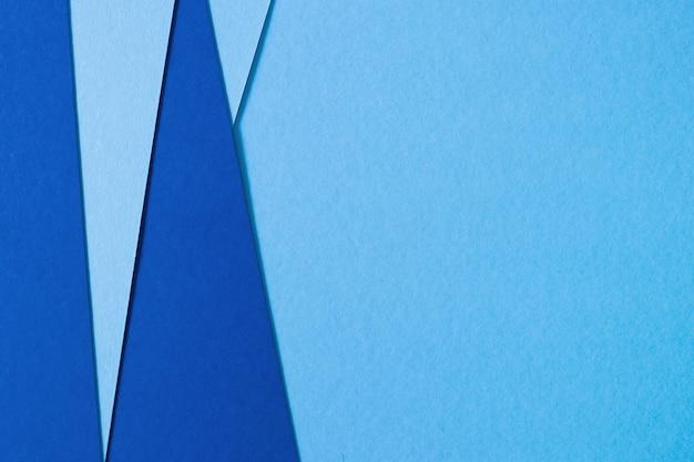 Fundo abstrato de papel de textura azul Foto gratuita