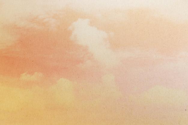 Fundo abstrato do céu na cor doce. Foto Premium