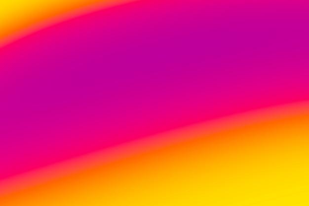 Fundo abstrato pop turva com cores quentes - roxo, laranja. rosa e amarelo Foto gratuita