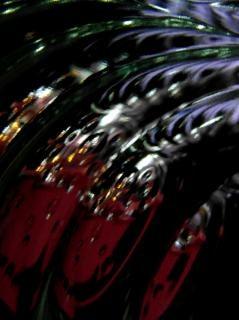 Fundo abstrato preto bolha cósmica Foto gratuita