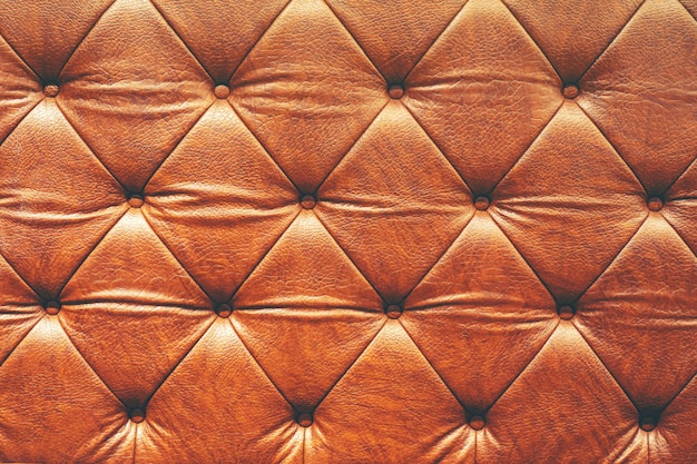 Fundo abstrato textura de sofá de couro de luxo Foto Premium