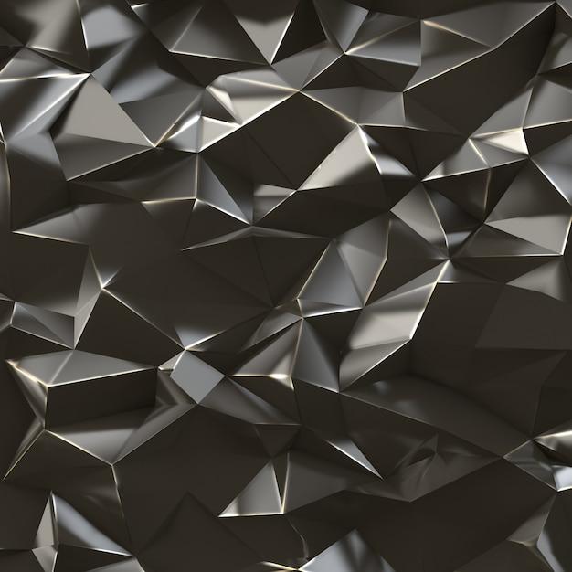 Fundo abstrato triângulos Foto Premium