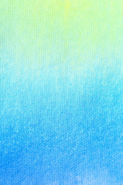 Fundo amarelo e verde azul da aguarela do inclinação. Foto Premium