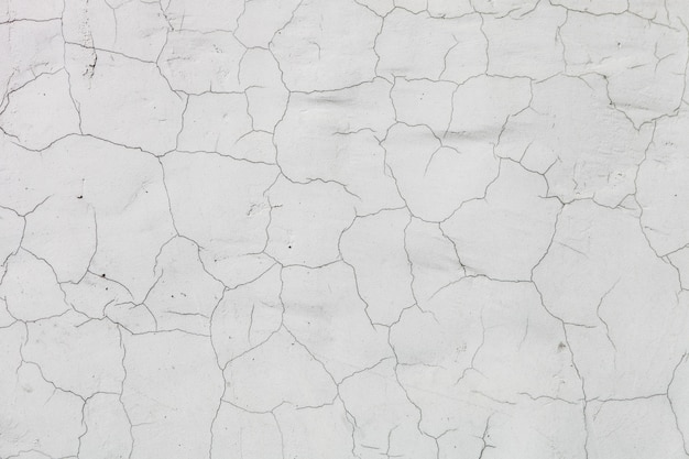 Fundo angustiado, fundo de textura de parede rachada Foto Premium
