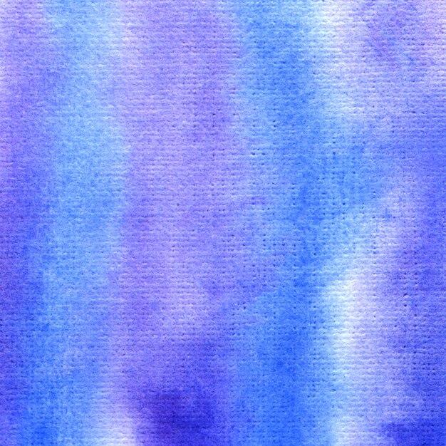 Fundo aquarela azul e roxo. resumo mão pintado o fundo. Foto Premium