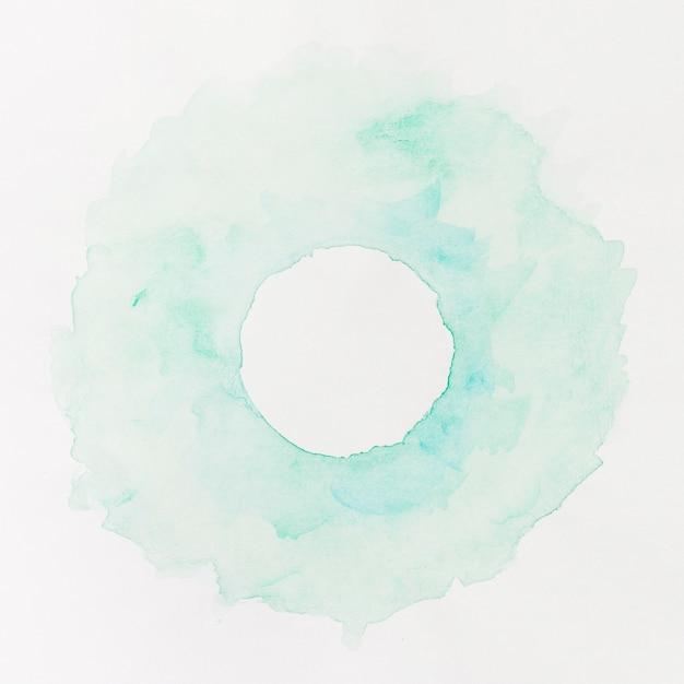Fundo aquarela círculo azul pastel Foto gratuita