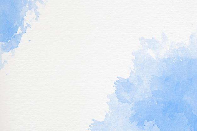 Fundo aquarela pintado à mão com forma de céu e nuvens Foto gratuita