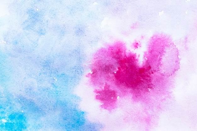 Fundo aquarela roxo e azul Foto gratuita