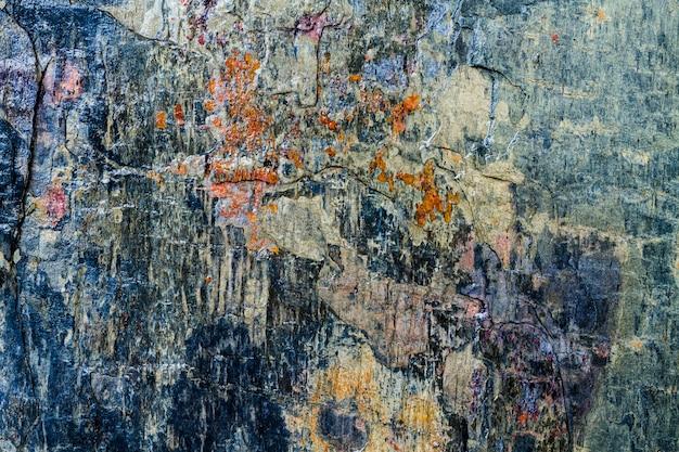 Fundo azul da textura das rochas e das pedras Foto Premium