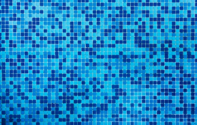 Fundo azul da textura das telhas do banheiro Foto gratuita