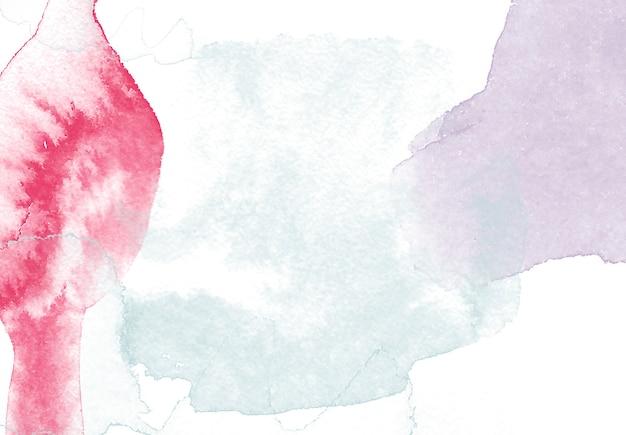 Fundo bonito com pincéis de aquarela Foto gratuita
