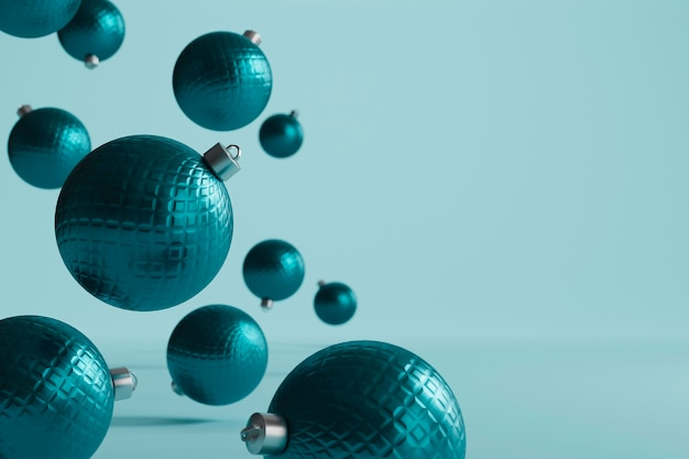 Fundo bonito com tema de natal Foto Premium