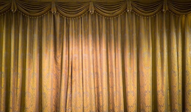 Fundo bonito cortina do vintage Foto gratuita