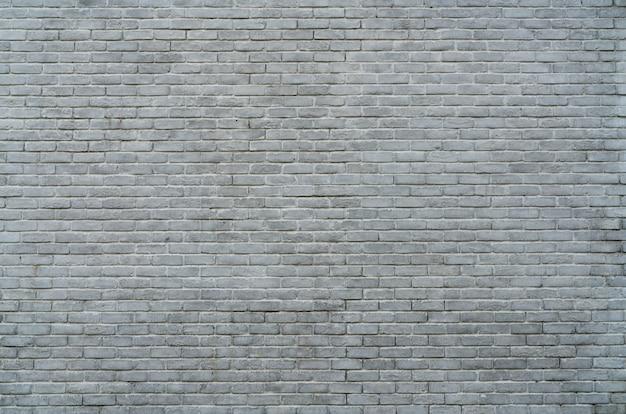 Fundo branco e cinzento da textura da parede de tijolo com espaço para o texto. Foto Premium