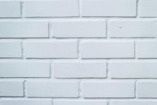 Fundo branco limpo da textura do vintage da cor da parede de tijolo. Foto Premium