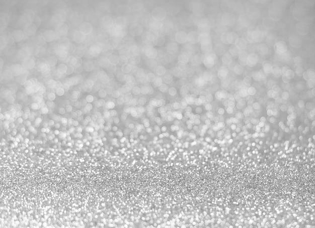 Fundo brilhante da textura do brilho de prata para o natal, conceito da celebração. Foto Premium