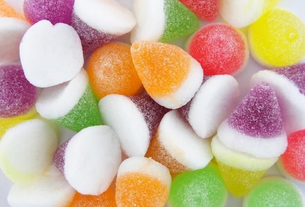Fundo colorido do doce de geléia Foto gratuita