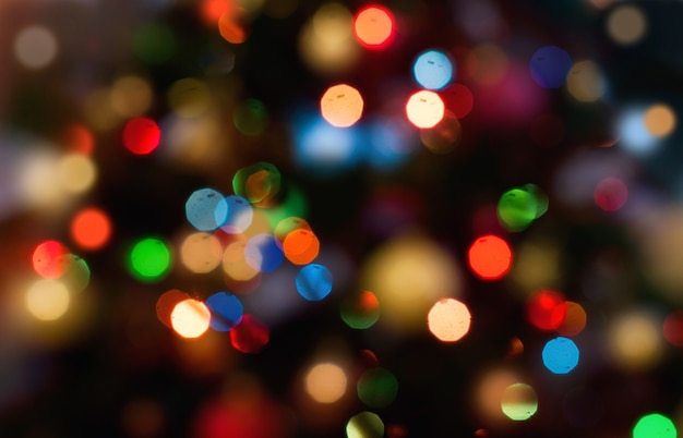 Fundo com efeito de luz boke decorativa Foto Premium