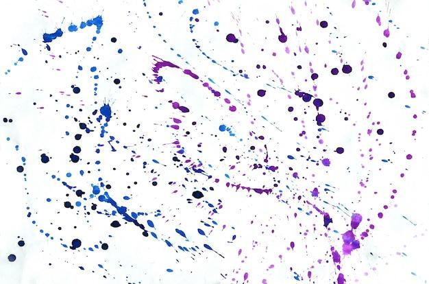 Fundo cor-de-rosa violeta azul colorido da aquarela para o papel de parede. ilustração de cor brilhante aquarelle Foto Premium