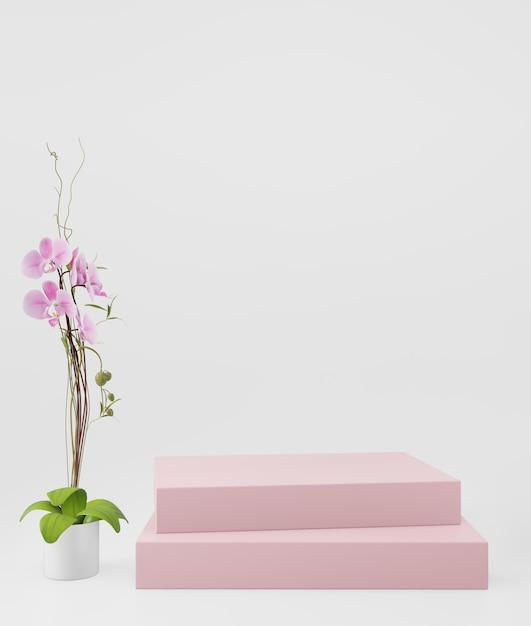 Fundo cosmético para apresentação do produto. Foto Premium