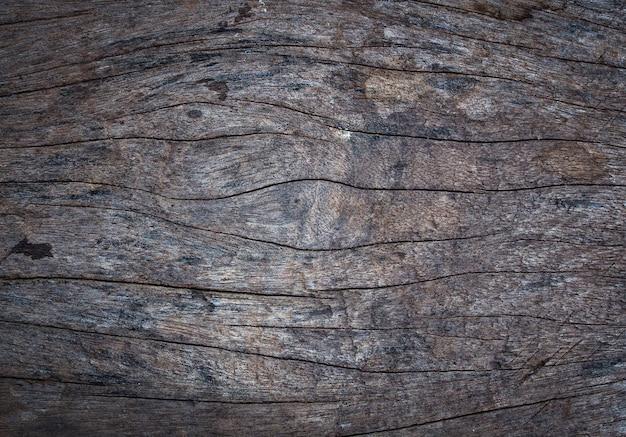 Fundo da parede de madeira velha vintage, fundos e conceito de textura Foto Premium