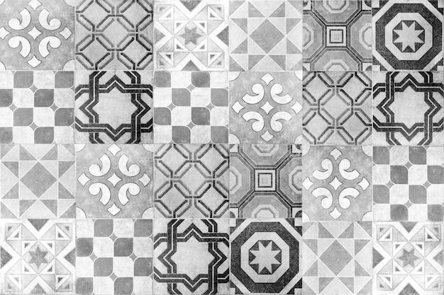 Fundo da parede de telhas cerâmicas turcas Foto Premium