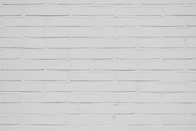 Fundo da parede de tijolo branco bonito Foto gratuita