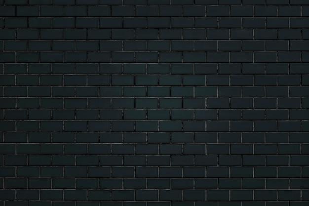 Fundo da parede de tijolo preto Foto gratuita