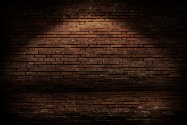Fundo da parede de tijolo rústico Foto gratuita