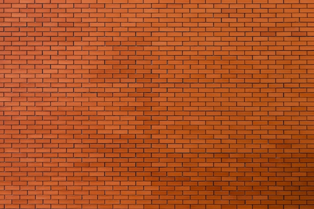 Fundo da textura da parede de tijolo vermelho. Foto Premium