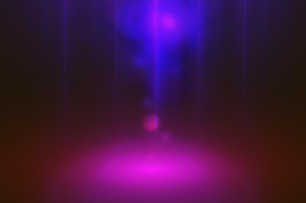 Fundo de arte abstrata de luz Foto Premium