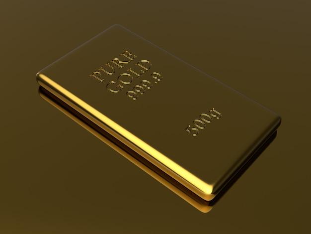 Fundo de barras de ouro Foto Premium
