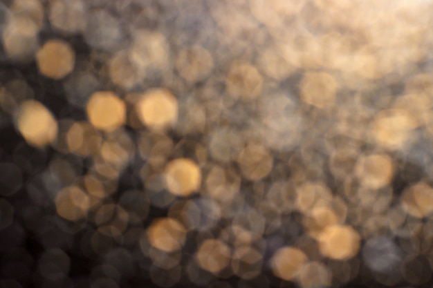 Fundo de bokeh amarelo-acinzentado Foto Premium