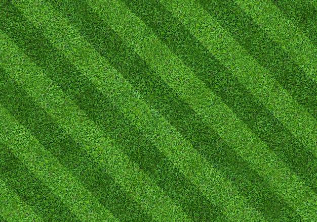 Fundo de campo de grama verde para esportes de futebol e futebol Foto Premium