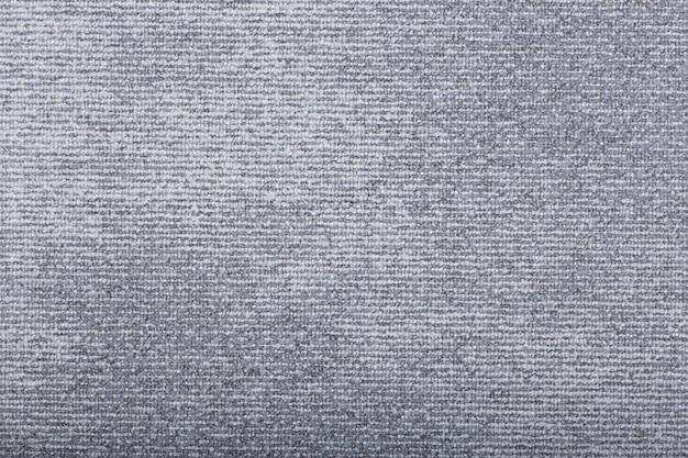 Fundo de cobertura de tapete. padrão e textura do tapete de cor cinza. copie o espaço Foto Premium