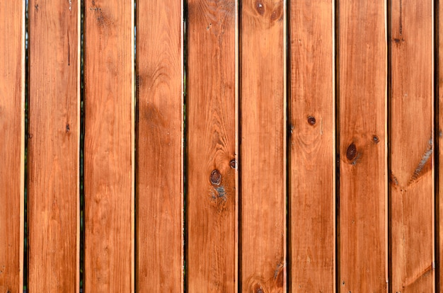Fundo de cores naturais de tábuas de madeira Foto Premium