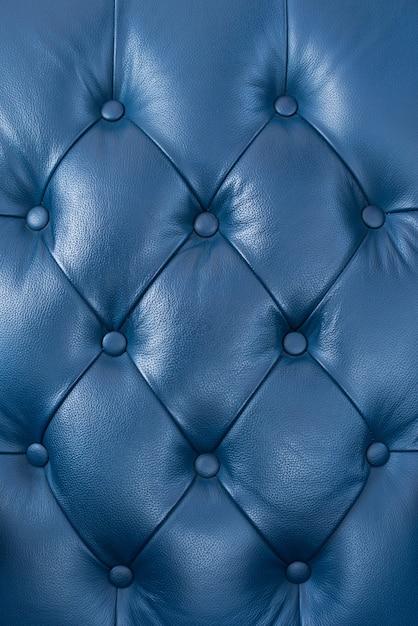Fundo de estofos de couro genuíno para uma decoração de luxo Foto Premium